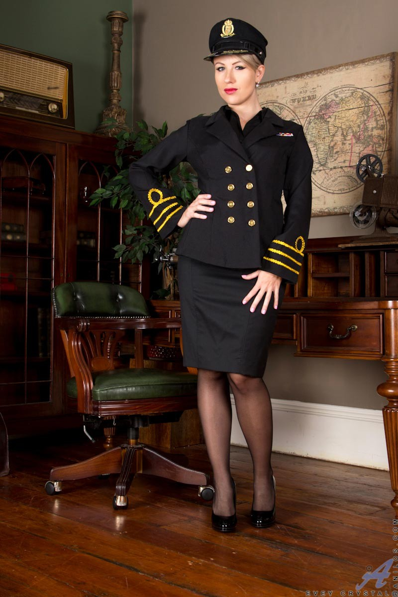 Sexy Milf Uniform