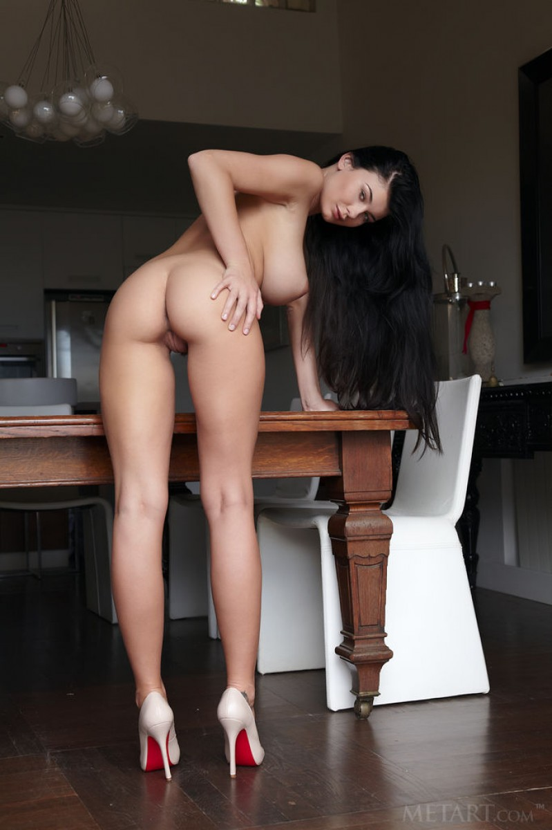 Lucy Li Naked In High Heels