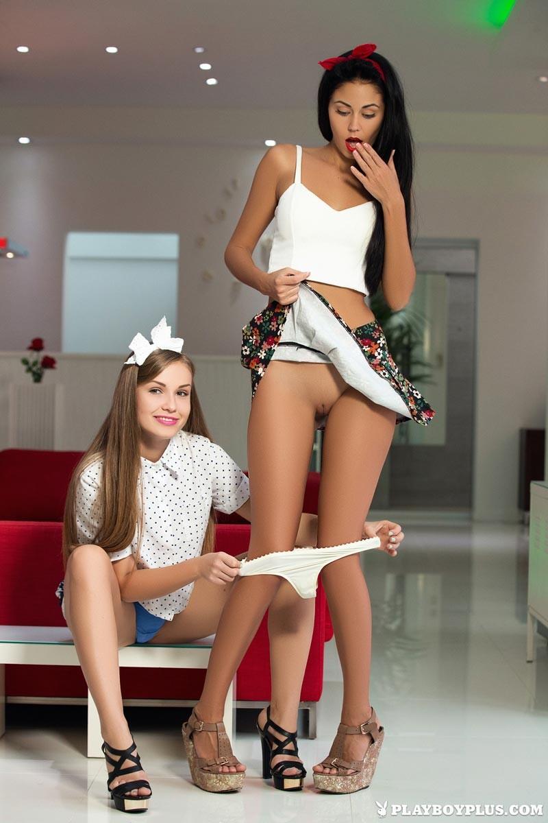 Playboy girls strip