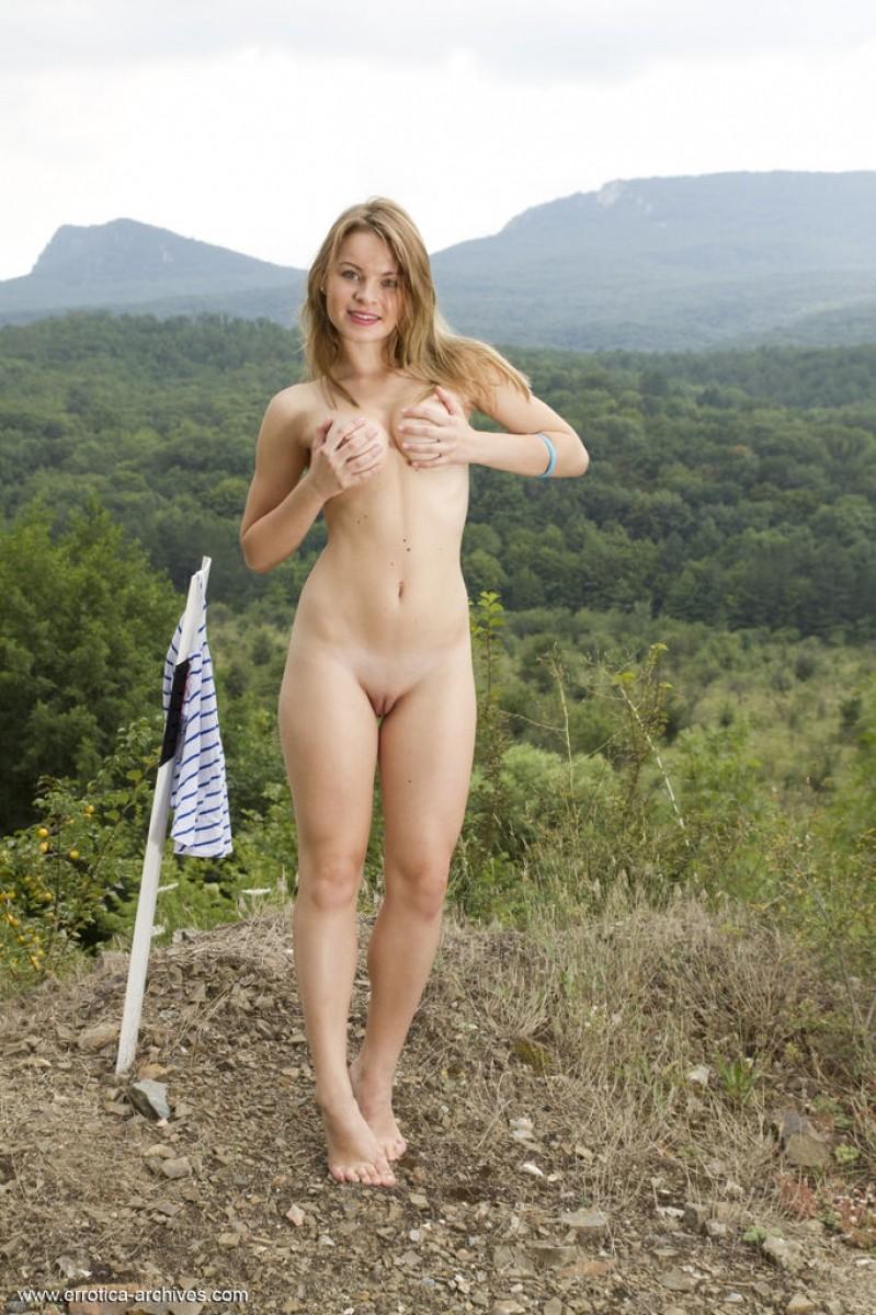 Naked Outdoor Teen-1790