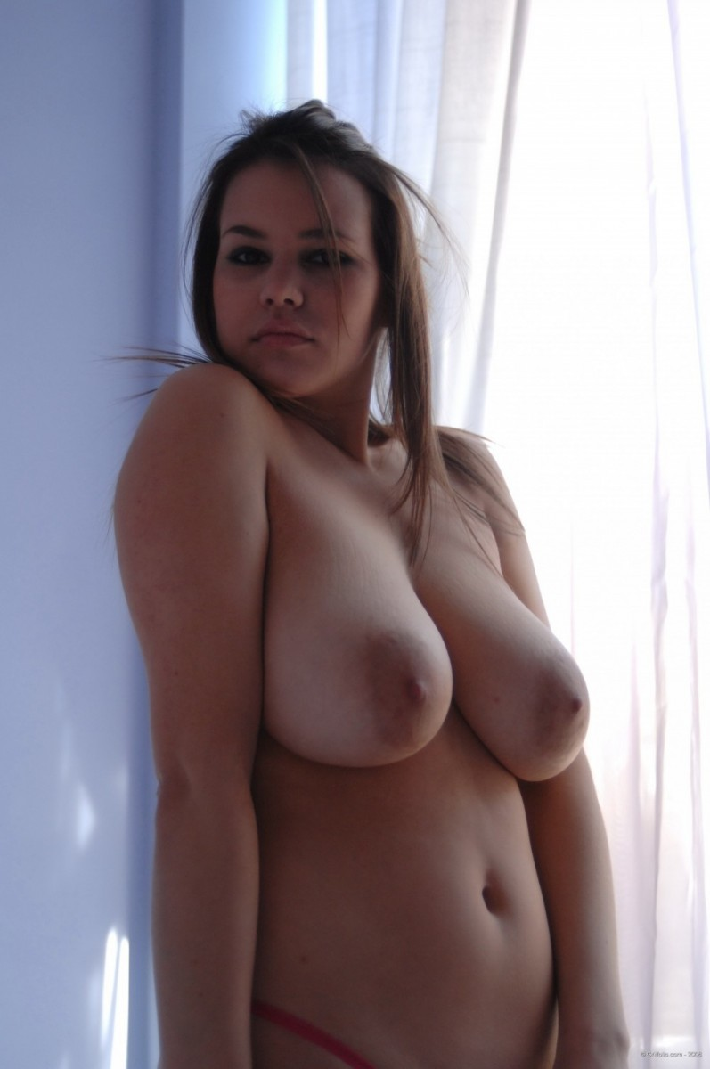Perfect Natural Big Tits Solo
