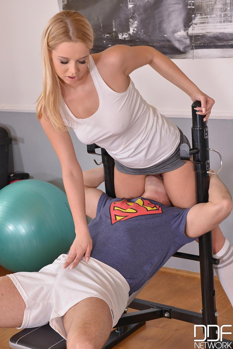 Gym Blowjob