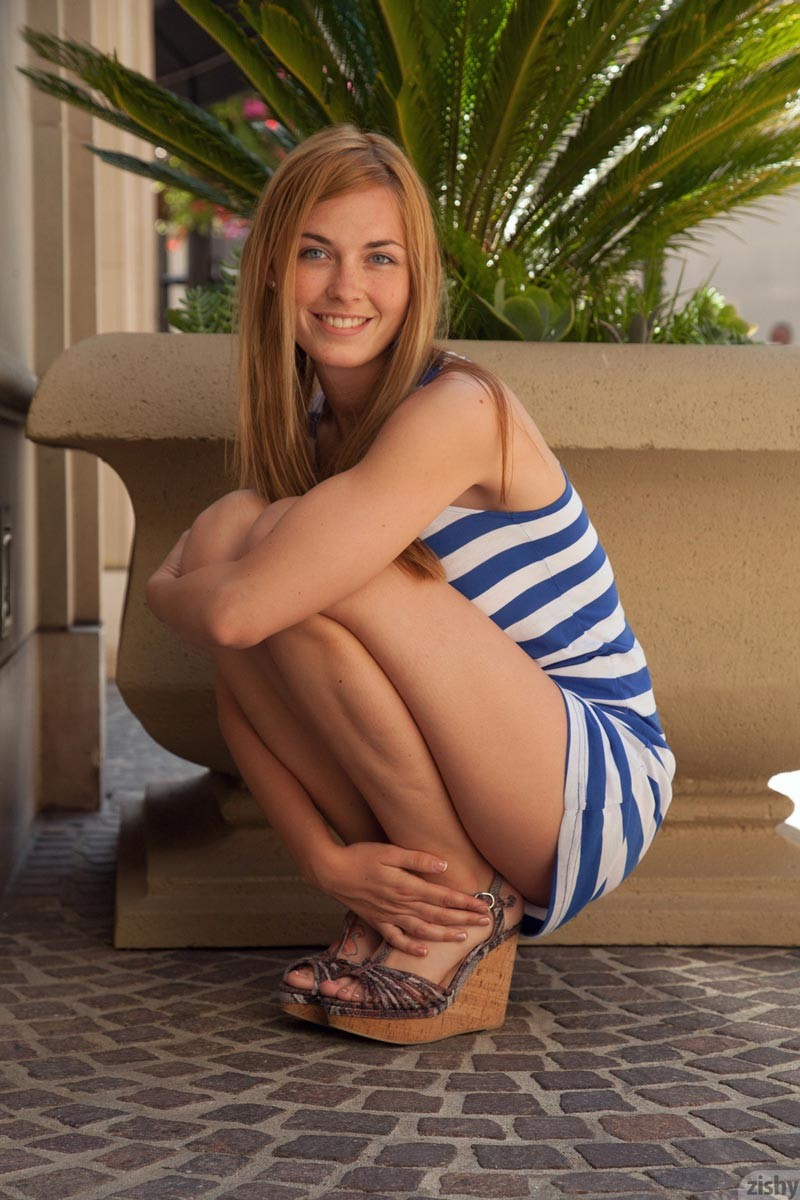 Hot blonde teen public now that i039ve been 10