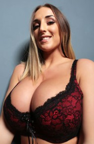 Stacey Poole In Red Lingerie