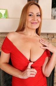 Elexis Monroe Classy Milf in a Red Dress
