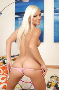 Lola Myluv in a Pink Thong