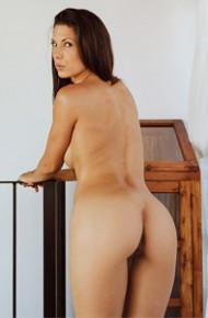 Alexa Tomas in Grey Panties