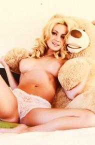 Angela Sommers Teasing in Panties