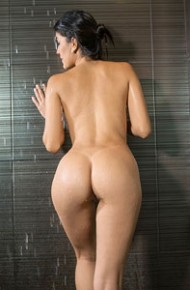Danni Ferrer Latina in the Shower