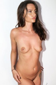 Nude Brunette With a Nice Body