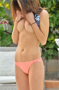 Kara Faux Topless Jogging