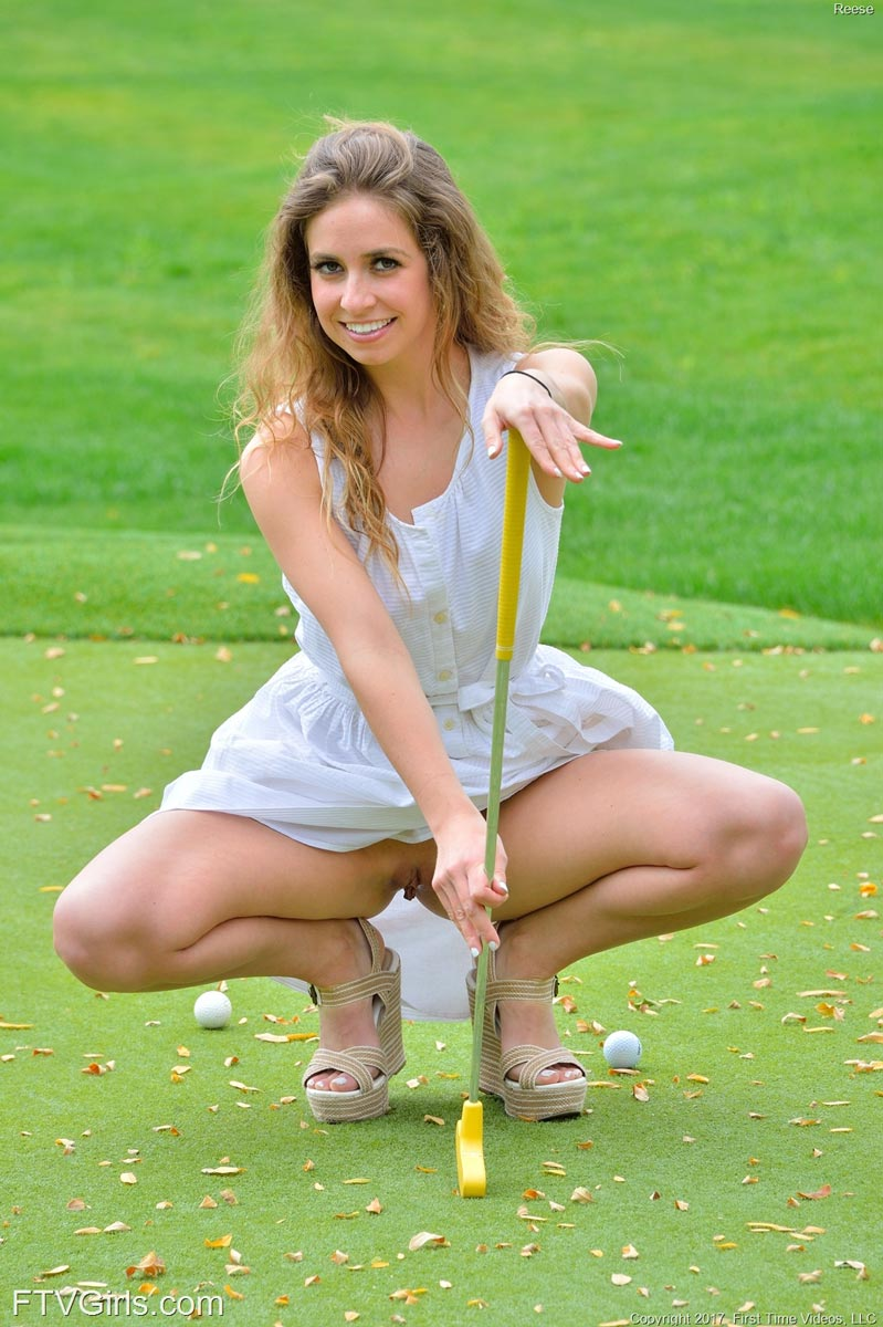 Reese Naked Golf Cutie-8110