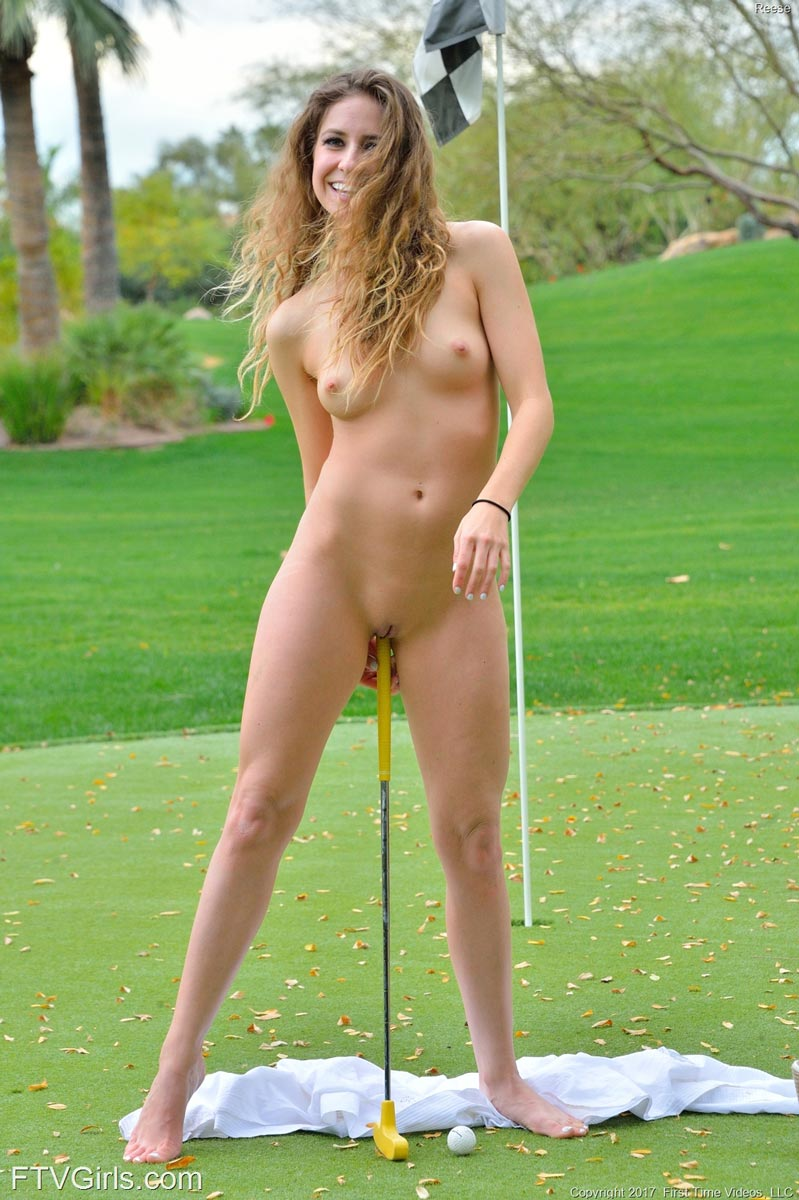 Reese Naked Golf Cutie-9216