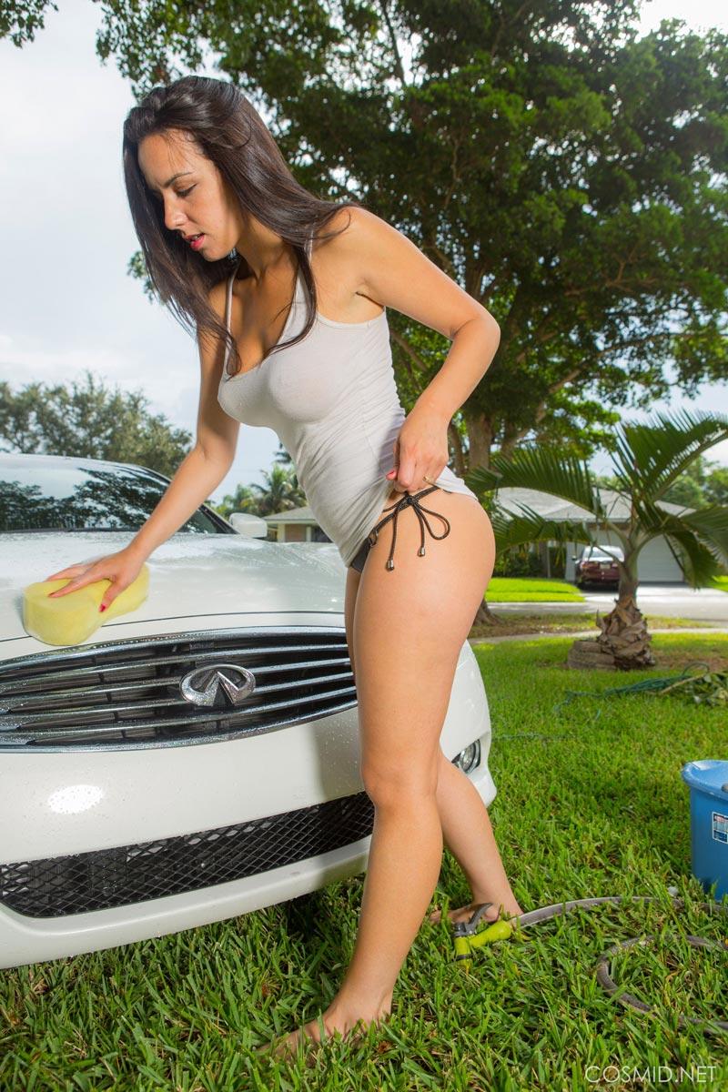Car wash fuck three