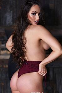 Anastasia Harris in a Bodysuit