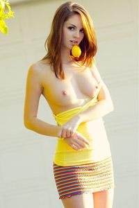 Aspen Martin Sexy Miniskirt