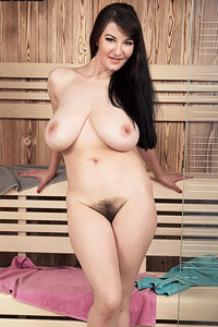 Lovely Vanessa Milf in the Sauna