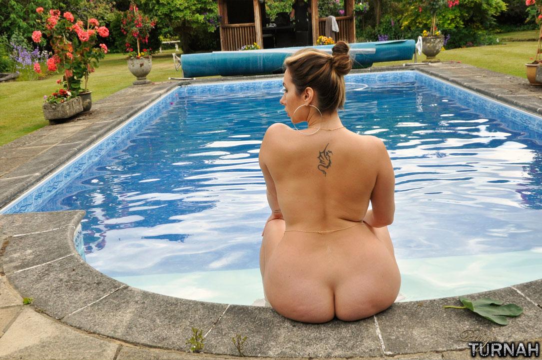 Milf swimming pool