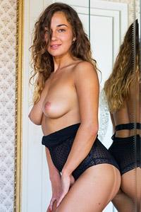 Allegra in a Sexy Bodysuit