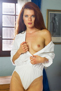 Mia Sollis in Bed