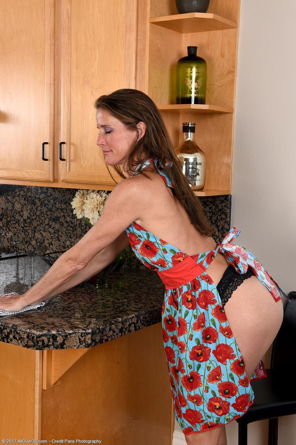 sofie marie kitchen striptease