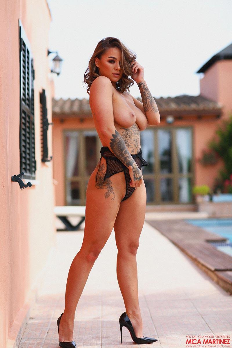 Mica Martinez Sheer Bodysuit-7634