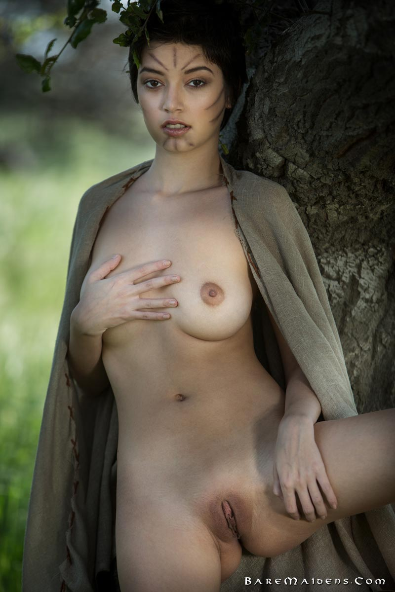 Bare maidens nude join