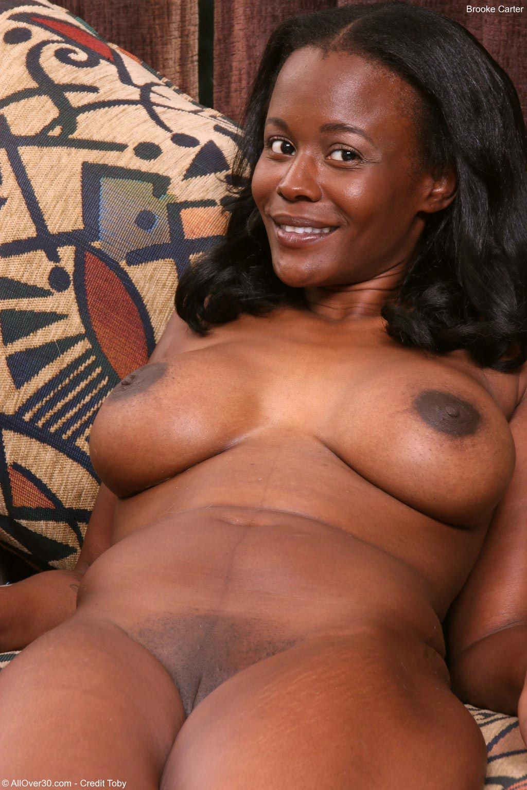 Brooke Carter Teases Her Ebony Pussy-5757