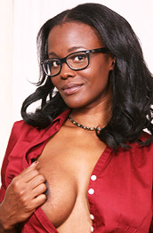 Brooke Carter Busty Ebony Secretary Strips