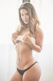 Eva Lovia Hot Ass in Black Panties