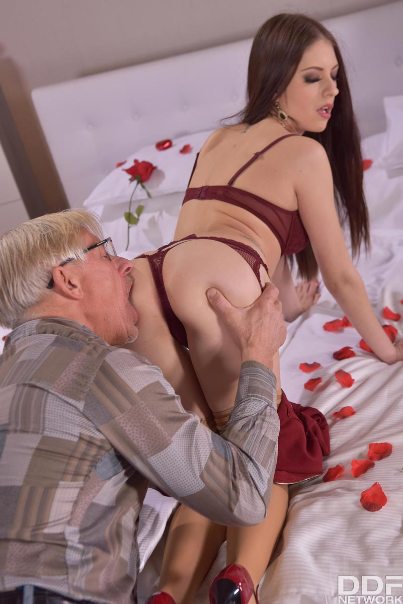Old Man Anal Porn rebecca volpetti anal sex with an old man