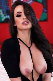 Anastasia Harris Black Bodysuit