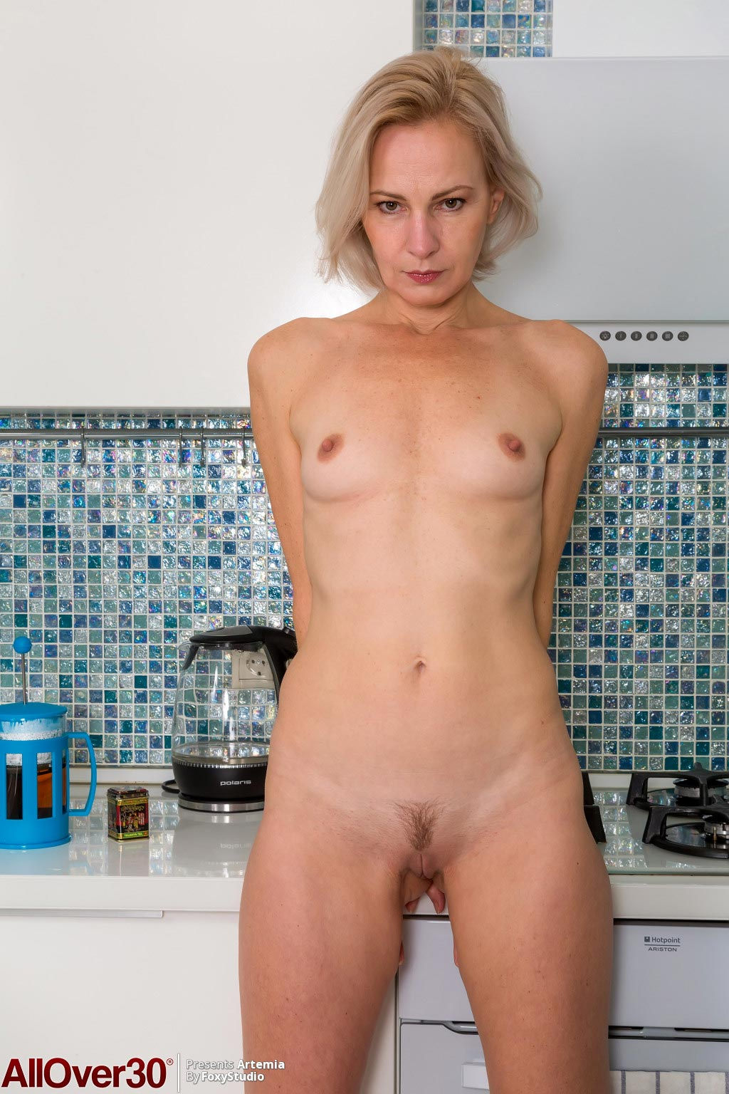 Artemia Mature Wife In The Kitchen-7971