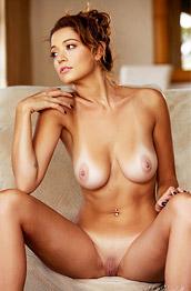 Ali Rose In Sheer Panties