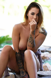 Mica Martinez Strips in the Big Shade