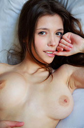 Mila Azul Lingerie Strip by the Window
