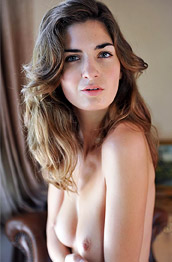 Charlotta Phillip Nude Leggy Babe in Natural Light