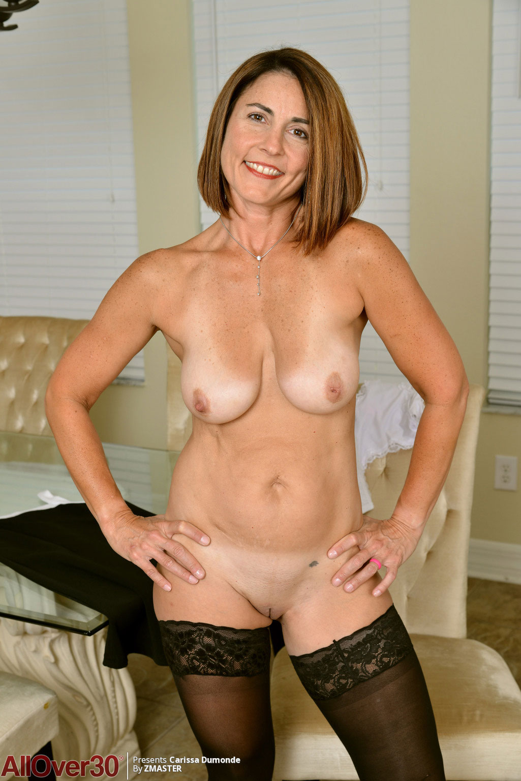 Nude milf in stockings yes What
