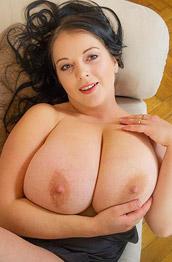 Agnes Poulin Shows Monster Tits