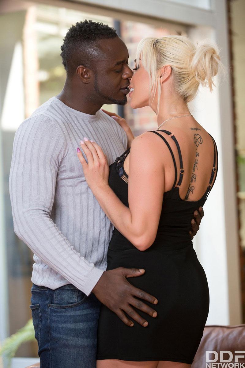 Blonde Loves Black Cock