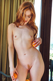 Jia Lissa Kinky Slim Ginger