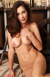 Susan F Strips off her Red Lingerie