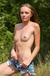 Andrea Sixth Nude in the Sun