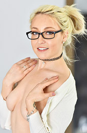 Valerie White Wearing Sexy Glasses