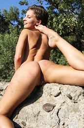 Galina A Firm Nude Outdoor Chick