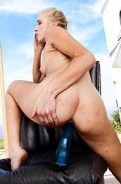 Kara Stone and her Big Toy