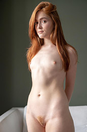 Jia Lissa Nude Ginger in Window Light