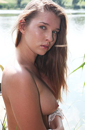 Beverly A Busty Hottie by the Lake