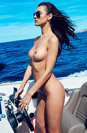 Veronika Klimovits in the Sun