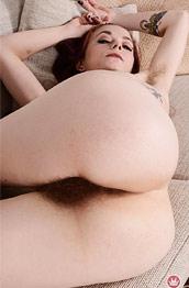 Ivy Adams Hairy Slim Amateur
